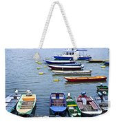 River Boats On Danube Weekender Tote Bag by Elena Elisseeva
