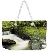 River Flowing Through A Forest, Torc Weekender Tote Bag