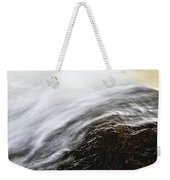 River In Fall Weekender Tote Bag