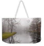 River In The Fog Weekender Tote Bag