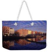River Liffey And Halfpenny, Bridge Weekender Tote Bag