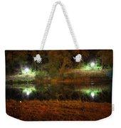 River Night Smooth Weekender Tote Bag