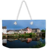 River Nore, Kilkenny, County Kilkenny Weekender Tote Bag