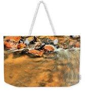 River Rock Swirl Weekender Tote Bag