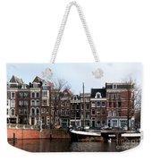 River Scenes From Amsterdam Weekender Tote Bag