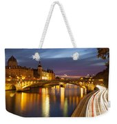 River Seine And The Concierge Weekender Tote Bag