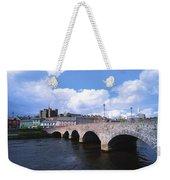 River Slaney, Enniscorthy, Co Wexford Weekender Tote Bag