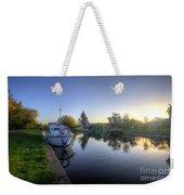 River Sunrise Weekender Tote Bag