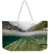 River Surface Weekender Tote Bag