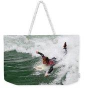 River Surfing Weekender Tote Bag