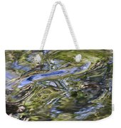 River Swirls - Abstract Weekender Tote Bag