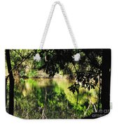 River Through The Trees Weekender Tote Bag