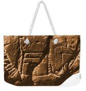 Riverboat On Ancient Seal Weekender Tote Bag