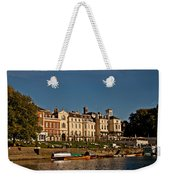 Riverside Weekender Tote Bag by Dawn OConnor