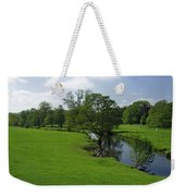 Riverside Meadows - Ashford-in-the-water Weekender Tote Bag