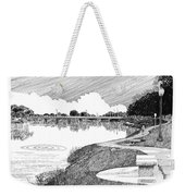 Riverwalk On The Pecos Weekender Tote Bag