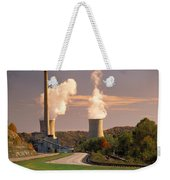 Road And Nuclear Plant.  Kentucky Weekender Tote Bag