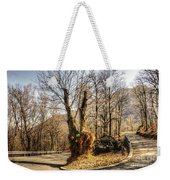 Road Curve With Trees Weekender Tote Bag