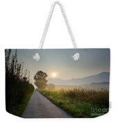 Road In Sunrise Weekender Tote Bag