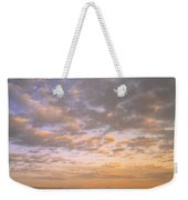 Road Into Sunset Weekender Tote Bag
