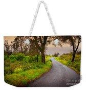 Road On Woods Weekender Tote Bag by Carlos Caetano