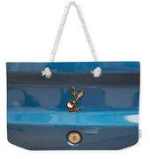 Road Runner Bird Emblem Weekender Tote Bag