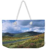Road Through A Mountain Range, County Weekender Tote Bag