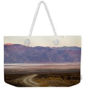 Road Through Death Valley Weekender Tote Bag