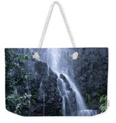 Road To Hana Waterfall Weekender Tote Bag
