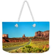 Road To Paradise Weekender Tote Bag
