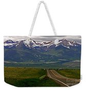 Road To The Sangre De Cristos Weekender Tote Bag