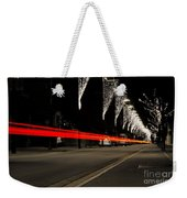 Road With Lights Weekender Tote Bag