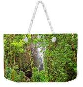 Roadside Waterfall Weekender Tote Bag
