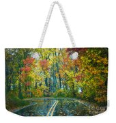 Roadway After The Rain  Weekender Tote Bag