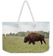 Roaming The Plains Weekender Tote Bag