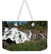 Roaring Falls Glen Alpine Falls Weekender Tote Bag