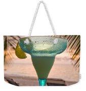 Roatans West Bay, Tropical Drink Weekender Tote Bag