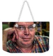 Rob At Work Weekender Tote Bag