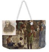 Robert Raikes (1735-1811) Weekender Tote Bag by Granger