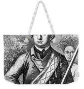 Robert Rogers, Colonial American Weekender Tote Bag by Photo Researchers