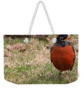 Robin Redbreast Weekender Tote Bag