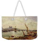 Rochester Cathedral And Castle Weekender Tote Bag