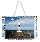 Rochester New York Harbor Lighthouse Weekender Tote Bag