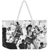 Rock And Roll At Day On The Green 1975 Weekender Tote Bag