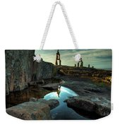 Rock Balancing Grand Marais Weekender Tote Bag