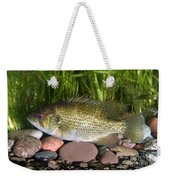 Rock Bass Weekender Tote Bag