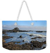 Rock Beach Weekender Tote Bag