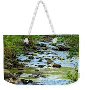Rock Creek Bed Weekender Tote Bag