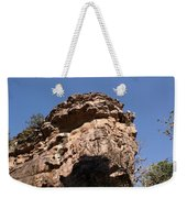 Rock Formations Bhimbhetka Weekender Tote Bag