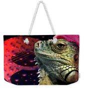 Rock Lizard Weekender Tote Bag